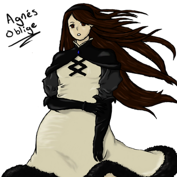 Agnes Oblige Bravely Default by shadow-wolf04