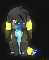 Glow In The Dark Dusky! by MidnightTheUmbreon