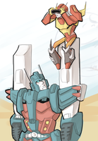 TF: the two towers by Puffintalk