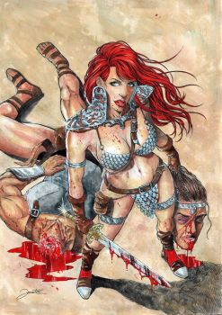 Red Sonja by jonatasartes