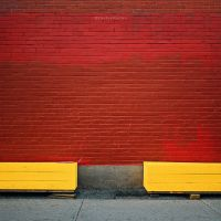 almost an equilibrium in yellow and red by bluePartout