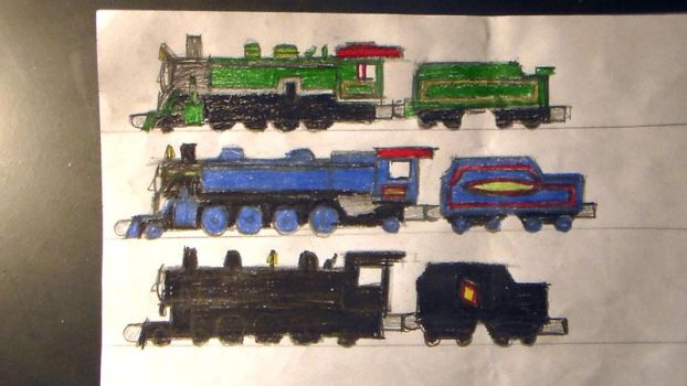 Take Along Drawing Requests 7 by TheMrtraintrack