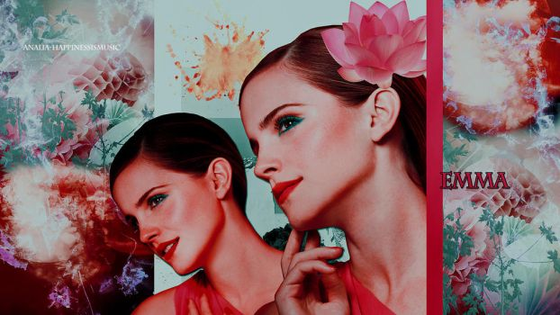 Emma WAtson wallpaper 04 by HappinessIsMusic