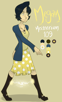 Megan Meitnerium [Official Reference] by VanadiumValor