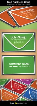 Freebie: Mail Business Card by yahya12