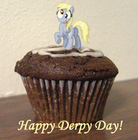 Happy Derpy Day by AleximusPrime