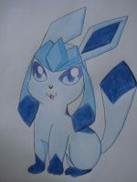 Cute Glaceon by NIGHTSandTAILSFAN