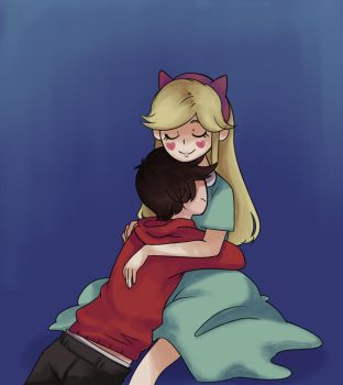 Hold me //Starco by Whatsernnamee