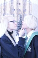 Lucius+Draco by MonoAbel