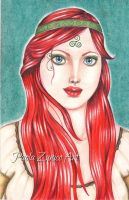 Celtic Queen by PaolaZunico