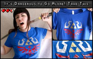 Hyrule Tshirt by Ymir-Crafts