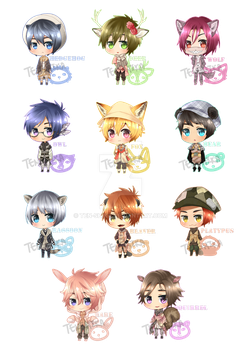 Free!: Forest Babies~ by Ten-Shika