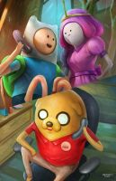 Adventure Time by NOPEYS