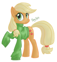 Applejack by Pony-Spiz