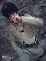 For the sake of mankind - Eren Jaeger cosplay/SnK/ by Hikuja
