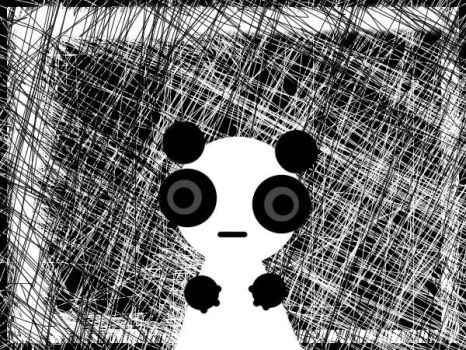 Panda by HarveyMiki