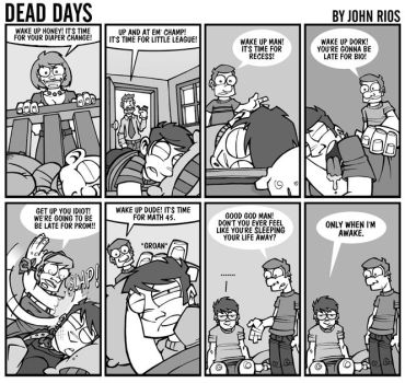Sleeping Your Life Away by deaddays
