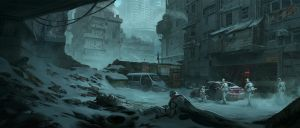 Dystopia - Infiltration - by KlausPillon