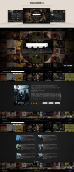 Trouver un film / Find a movie webdesign by NicolasMzrd
