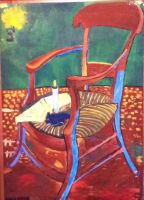 Gauguin's Chair by superahmazingnes