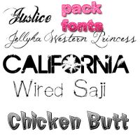 Fonts Pack by Itzeditions