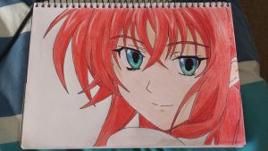rias gremory  high school dxd by Anime-With-Jackson