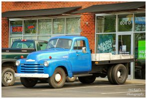 Flatbed Chevy Truck by TheMan268