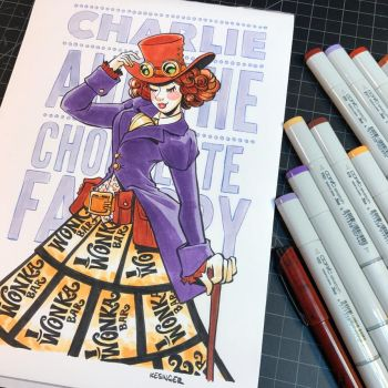 Willy wonka commission  by BrianKesinger
