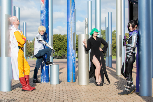 One Punch Man - Squad on Point by Lithium-Toxide