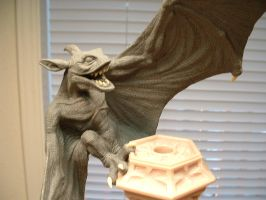Gargoyle Close-Up by DaVinci41
