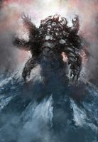 ice monster by detmills8