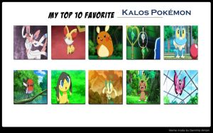 My Favorite Kalos Pokemon