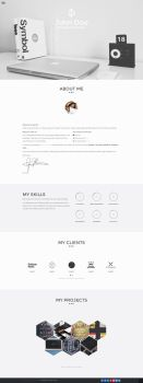 Resumr - Modern, Clean and Flexible Resume by DarkStaLkeRR