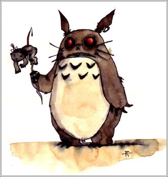 MY Neighbor Totoro by inexistenz