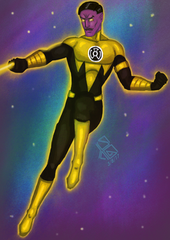 August 3, Thaal Sinestro by Alessadr