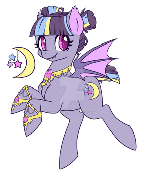 WITCH BAT PONY ADOPTABLE [AUCTION] (CLOSED) by SK-REE