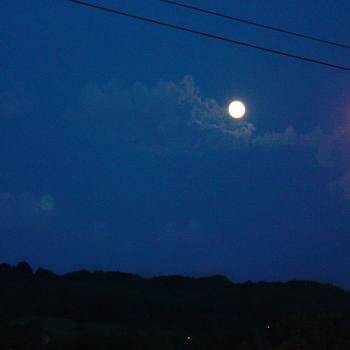 A View with a Moon by aki-o