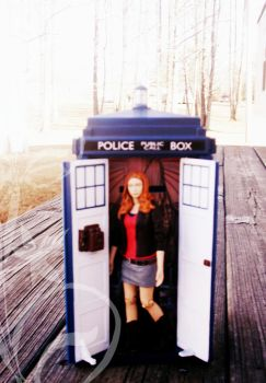 Mad, Impossible Amy Pond by Skin-Less