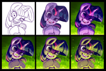 'Step into my lab...' Step-by-Step by SorcerusHorserus