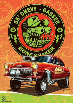 55' Chevy Gasser - Bone Shaker by christiano-bill