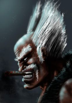 Heihachi by Packittoo