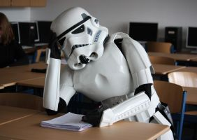 Stormtrooper at the School by Thatlex