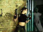 Lara Croft - Scary, huh? by TanyaCroft