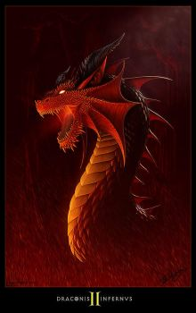DRACONIS INFERNVS II by Deligaris
