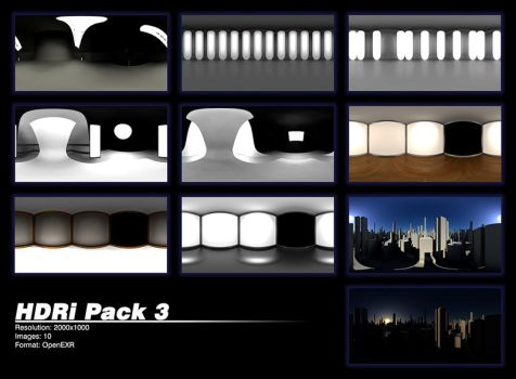 HDRi Pack 3 by zbyg
