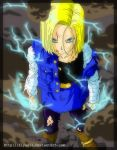Future Android 18- by ElyasArts
