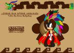 Yoltic the Aztec Hedgehog xXSonic ChannelXx by PrincessShadyk