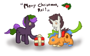 Merry Christmas, Rei by Sepent