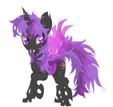 Princess Twilight (changeling vector) by Law44444