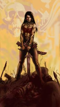 Frazetta fun by KrisCooper